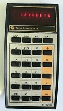 Vintage Texas Instruments Ti-1250 Electronic Calculator Red Led Display Working