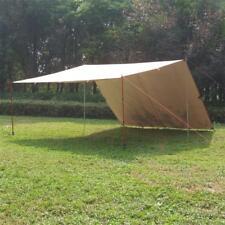 Portable Camp Tent Tarp Sun Shelter Waterproof Rain Fly Hammock Shelter 3x5m