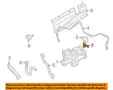 VW VOLKSWAGEN OEM 98-05 Passat Turbocharger Turbo-Water Hose Assembly 058121492A