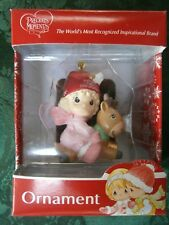 New Precious Moments Ornament Babys 1st First Christmas Girl/Deer (No Date/Year)
