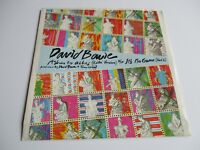 """DAVID BOWIE ASHES TO ASHES / ITS NO GAME VINYL 7"""" 45 RPM SINGLE 1980 NEW"""