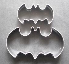 Batman Cookie Cutter 2 size Logo Fondant Pastry Biscuit Baking steel Mold Set