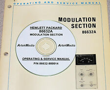 HP 86632A AM-FM Modulation Module Ops & Service Manual