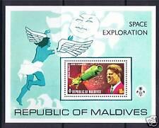 Maldives 1974 Space Exploration M.S. SG 490 MNH