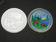 Citta Scout Reservation 2007 50th Anniversary 2 Different Patches    c41