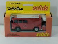 Solido Toner Gam No. 2008 Fourgon Mixte Fire Brigade - Metal