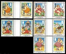 Great Britain. British Picture Postcards. 1994 Scott 1553-1557 Pairs MNH (BI#36)