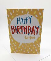 DIY Recordable Voice Birthday Cards - 30 second Audio