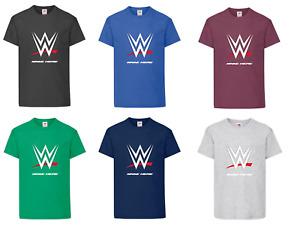 Personalised Men's Ladies Wrestling Shirt Super Premium T-Shirt Gift Present