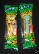 Spongebob Squarepants Pez Squidward Candy Dispenser New in Bag