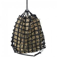 Tough 1 Black MINI PONY Size Slow Feed Web Hay Feeder w/Drawstring Top 72-1312