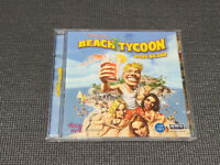Virtual Resort Beach Tycoon PC Game Korean Version Windows CD ROM Retro Rare