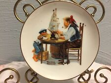 """Norman Rockwell Collector 6 1/2"""" Plate- """"for a good boy"""" 1984"""