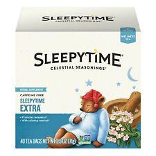 Celestial Seasonings Sleepytime Extra Tea Caffeine Free, 40 Tea Bags Sep/2021