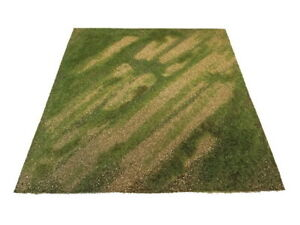 Scenic Mats - Airfield Dusty Summer (dimensions: 245mm x 245mm)