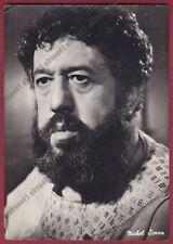 MICHEL SIMON 04 ATTORE ACTOR ACTEUR CINEMA MOVIE - SUISSE Cartolina FOTOGRAFICA
