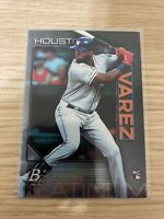 2020 Bowman Platinum #100 Yordan Alvarez RC Houston Astros