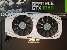 ASUS GeForce GTX 1060 6GB Dual Boost Fan Graphics Card