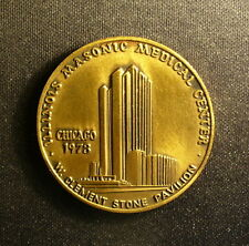 Masonic Clement Stone Medical Center Medal
