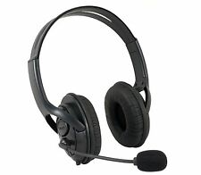 NEW BLACK DELUXE HEADSET HEADPHONE WITH MICROPHONE FOR XBOX 360 LIVE UK SELLER