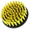 """5"""" Round Light Duty Yellow Full Bristle Drill Brush"""