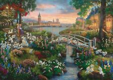 Schmidt Kinkade: Disney, 101 Dalmatians Jigsaw Puzzle (1000 pieces)