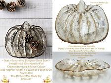 🍂 Next Pumpkin dekoratives Schmuckstück Fruit Bowl Dish Home Tischdeko Ornament VTG