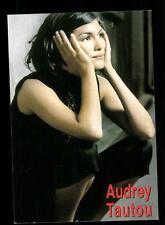 Audrey Tautou autografiada mapa top # bc 169084