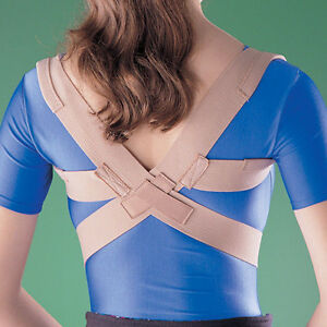 OPPO 2075 Posture Corrector Support Clavicle Thoracic Spine Brace Pain AC Collar