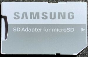 4 x SAMSUNG MICRO SD SDHC MEMORY CARD ADAPTER TO STANDARD CONVERTER FREE UK POST