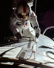 Nasa Ronald Evans Trans-Earth Eva Apollo 17 8x10 Silber Halogen Fotodruck