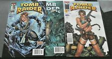 1999-2000 Image/Top Cow Comics Tomb Raider #s 1-3 Newsstand Editions Rare Nm