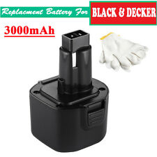 For Black & Decker PS120 FireStorm Replacement Power Tool Battery 9.6V 3000mAh