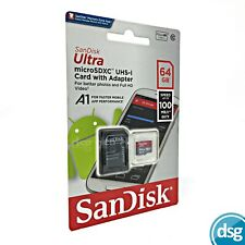 SanDisk 64GB Micro SD Tarjeta de memoria SDXC para Nintendo Switch Consola De Juegos