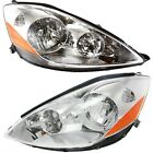 Headlight Set For 2006-2010 Toyota Sienna Left and Right With Bulb 2Pc