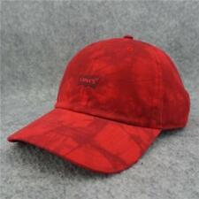 Levi's Snapback Baseball Cap Men's Hat Adjustable  Red