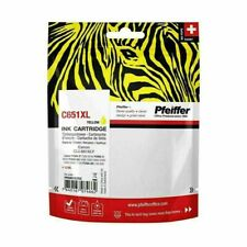 Pfeiffer Ink Cartridge, compatible with Canon CLI-651XLY Yellow. PFIC651XY