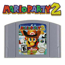 Mario Party 2 Video Game Cartridge Nintendo N64 Brand NEW USA STOCK