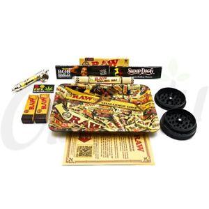 Rolling Tray Smoking Gift Set RAW Mix Small Rolling Tray Smokers Set Snoop Dogg