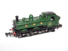 Locomotoras de escala N verdes Graham Farish para modelismo ferroviario
