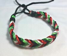 New Palestinian Flag Braided Bracelet Palestine Four Colors Flag Wristband