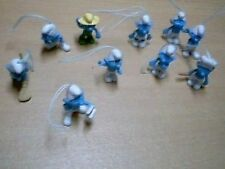 Lot de 10 petites figurines Schtroumpfs (lot4)