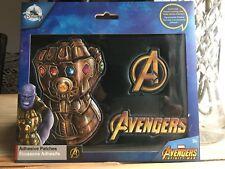 Avengers Infinity guerre adhésif Correctifs-Marvel-Neuf En Pack-Disney-Thanos Gauntlet