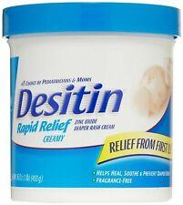 Desitin Rapid Relief Diaper Rash Cream - 16oz