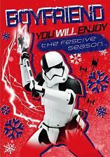 Star Wars BOYFRIEND Christmas Card Stormtrooper Disney Gift