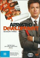 ARRESTED DEVELOPMENT Season 3 - Jason BATEMAN Michael CERA (2 DVD SET) NEW Reg 4