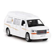 1/32 GMC Savana Passenger Van Model Car Diecast Gift Toy Vehicle White Pull Back