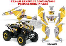 Amr racing DECOR Kit ATV CAN-AM renegade, ds250, ds450, ds650 t-Bomber DECOR B
