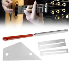 Quality Guitar Fret Crowning File Protector Leveling Grinding Repair Tool Kit Us