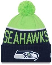 New Era Seattle Seahawks NFL Official Sideline Sport Knit Beanie, NWT
